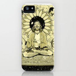 The Tao of Dude (The Big Lebowski) iPhone Case