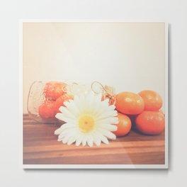 Oh, Clementine Metal Print