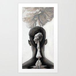 AMNESIA Art Print