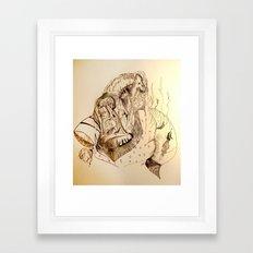 Flight of Dragons Omadon Framed Art Print