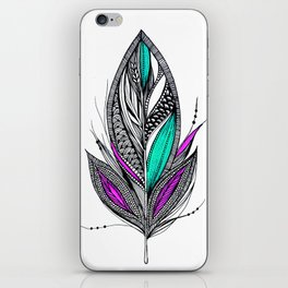 Harvest Feather 2 iPhone Skin
