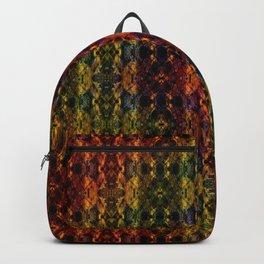 Kaleidescape Pattern Backpack