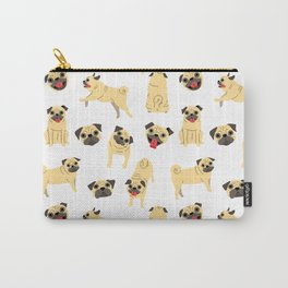 Pug Patterndog Posesdog Breed Carry-All Pouch