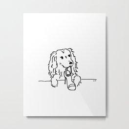 City Dogs {Shoe Diva} Metal Print