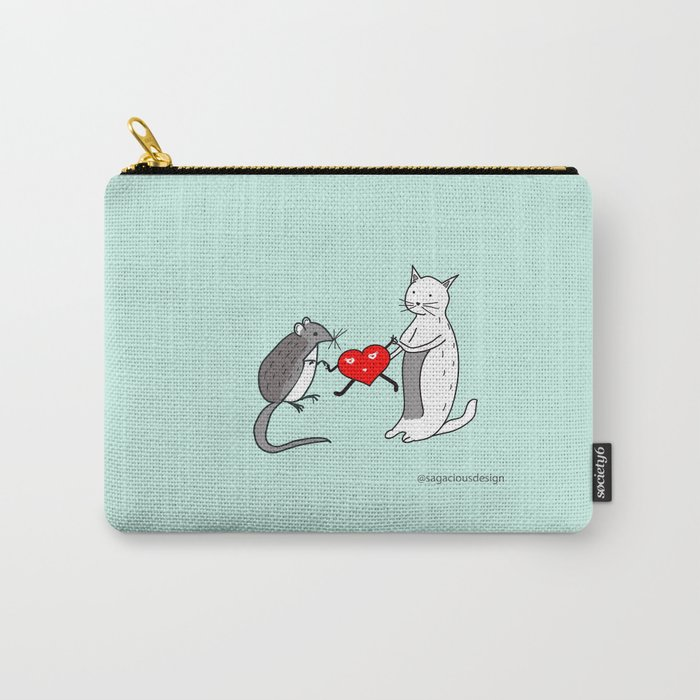 Your heart is mine Carry-All Pouch