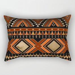 Aztec Ethnic Pattern Art N7 Rectangular Pillow