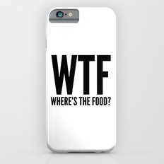 WTF Where's The Food Slim Case iPhone 6s