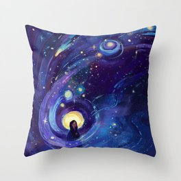 Of the Stars Throw Pillow