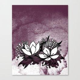 Flower Tangle Canvas Print