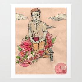 NOche BUENA Art Print