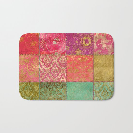 Royal Patchwork Bath Mat