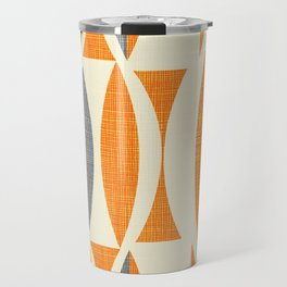 Seventies  orange Travel Mug