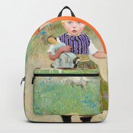 The Sisters - Julius Garibaldi Melchers Backpack