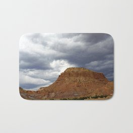 Buttes of New Mexico - On the Road to Santa Fe, No. 3 Bath Mat