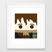 outlander Framed Art Prints featuring Outlander, Jamie Fraser by heartfeltdesigns by Telahmarie