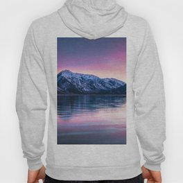 Sunset over twin lakes Hoody