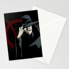 V for Vendetta (e1) Stationery Cards