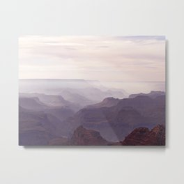 Misty Canyon 2 Metal Print