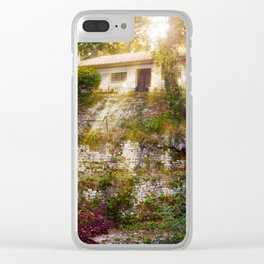 House Bathed in Sunlight! Clear iPhone Case