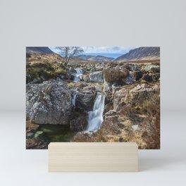 Glencoe Falls Mini Art Print