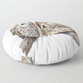 Two owls Floor Pillow