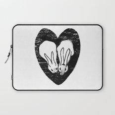 Huddling Rabbits Laptop Sleeve