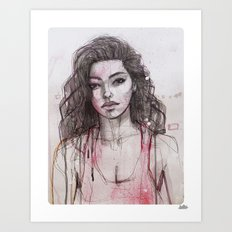 Adrianne 01 Art Print