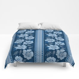 Blue Lagoon Floral Comforters