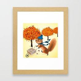 Acorn Industrialist Framed Art Print