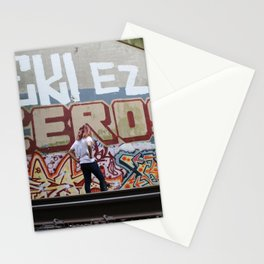 Graffiti Hunting Stationery Cards
