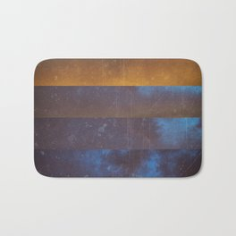 cold sunset Bath Mat