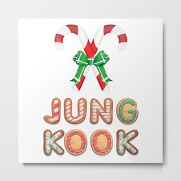 BTS Jungkook: Happy Christmas! Metal Print