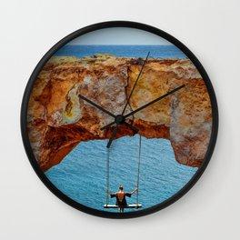 Wander Woman Rock Swing Wall Clock