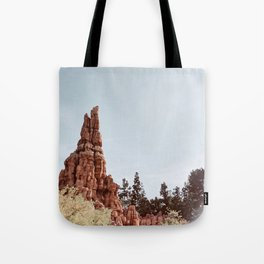 Western Mountains Tote Bag