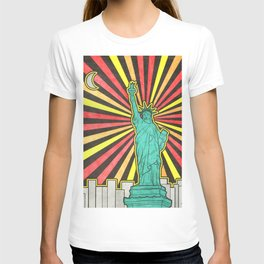 Statue of Liberty in New York T-shirt