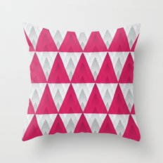 Speckled Triangle Pattern Throw Pillow