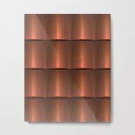 copper work Metal Print