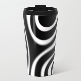 Airbrushed Strokes Travel Mug