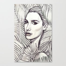 Stunning Gal Gadot Canvas Print