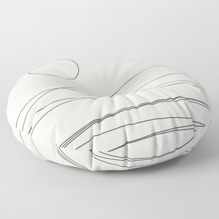 Abstract Landscape 15C Floor Pillow