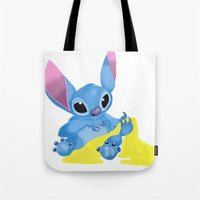 ginger Tote Bags featuring Ginger by Amanda K. Hootman