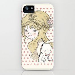 """""""Some bunny loves you"""" iPhone Case"""