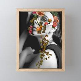 Faces Un Bonded Project II Framed Mini Art Print