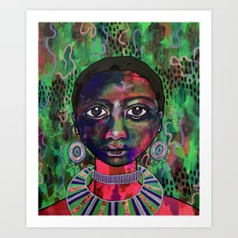 Tishala - Tanzania Art Print