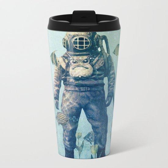 Deep Sea Garden  Metal Travel Mug