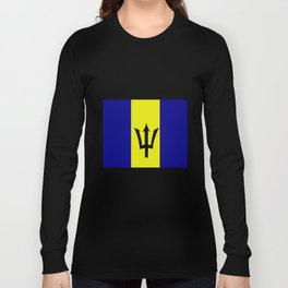 Flag of Barbados Long Sleeve T-shirt