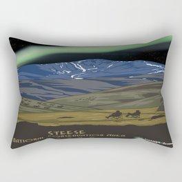 Vintage poster - Steese Rectangular Pillow
