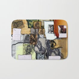 The Sketchbook Bath Mat