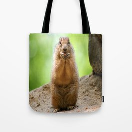 Black Tailed Prairie dog Tote Bag