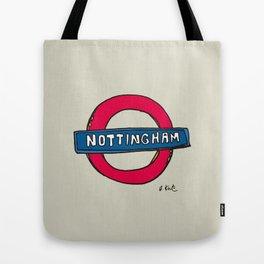 tube sign Tote Bag